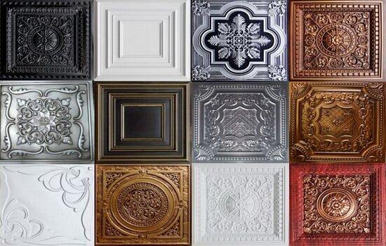 Можно ли красить потолочную плитку