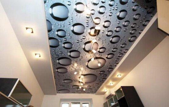 Натяжные потолки 3D – новинка в дизайне интерьера