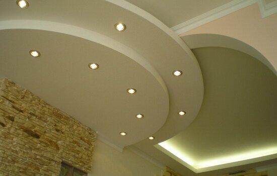 Ремонт гипсокартонного потолка. Варианты устранения повреждений