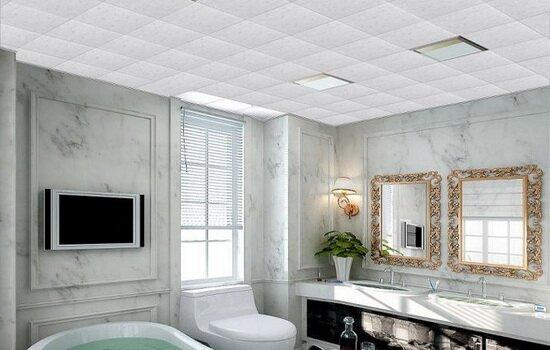 Варианты кассетных потолков для ванной комнаты